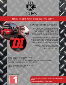 October K Cups @ Square 1